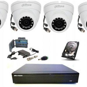 Analogowe AHD/HD CVI TVI/CVBS - zestawy