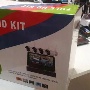 Zestaw kamer wifi IP z LCD