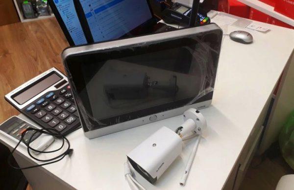 kamera z LCD