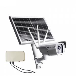Z panelem solarnym Wi-Fi / GSM LTE