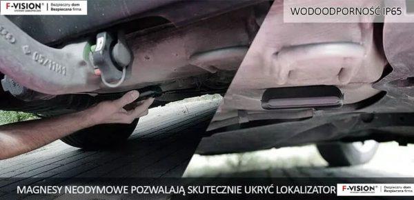 GPS pod auto na magnes neodymowy