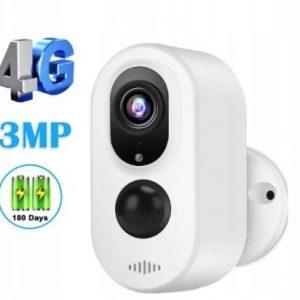 Kamera 3Mpx LTE 3G 4G SIM bezprzewodowa na baterie akumulatory ZEWNĘTRZNA