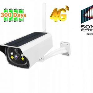 KAMERA SOLARNA GSM 4G LTE NA KARTE SIM SONY 100% bezprzewodowa