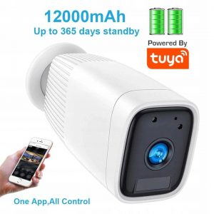 Kamera bezprzewodowa WIFI na baterie akumulatory zewnętrzna 2Mpx FullHD