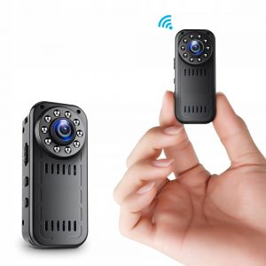 Kamera Osobista z WiFi dla Policjanta strażnika kelnera wideokonferencja