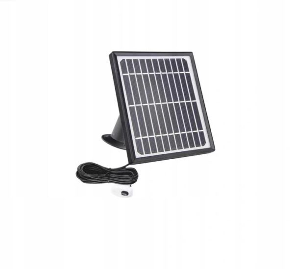 Panel solarny do kamer 4G lte WiFi na baterie USB microUSB USB-C