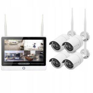 ZESTAW MONITORINGU WiFi Z MONITOREM LCD NVR 2MPX PL menu 4 kamery